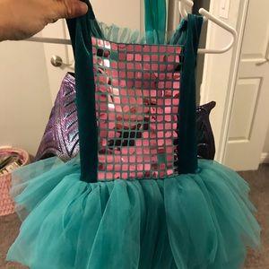 Toddler girl Dragon costume
